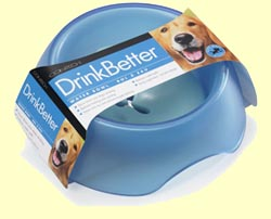 DrinkBetter Dog Bowl - Blue