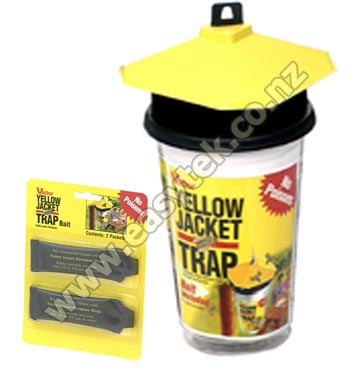 how to make a wasp trap nz